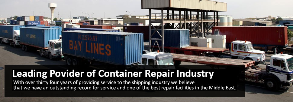 M.E.C.R.C. is the leading company providing container repair services in the U.A.E., with depots inside the ports of Jebel Ali and Mina Zayed, close to the container terminals